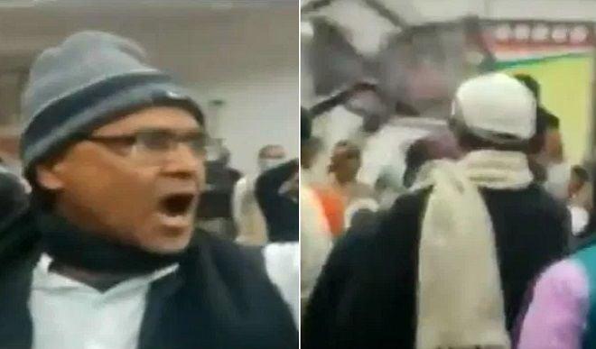 सदाकत आश्रम बना अखाड़ा, बिहार कांग्रेस प्रभारी के सामने चलीं कुर्सियां