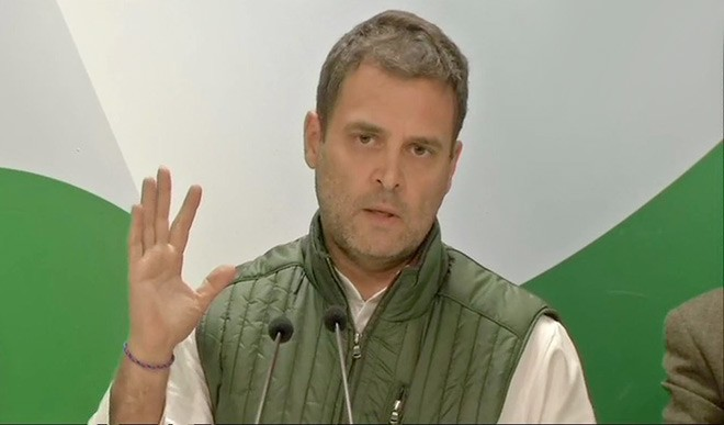 भाजपा अध्यक्ष पर राहुल का पलटवार, पूछा- कौन हैं नड्डा