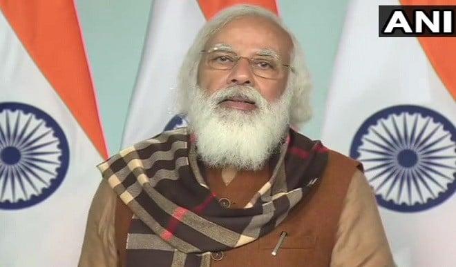 काशी में कोरोना टीकाकरण के लाभार्थियों से PM मोदी ने की बात, कहा- देश में चल रहा सबसे बड़ा अभियान
