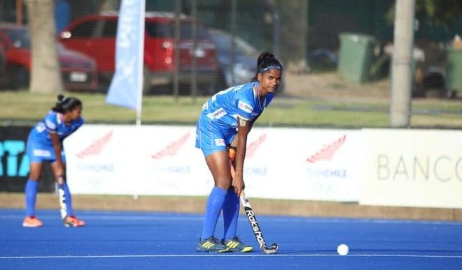 भारतीय जूनियर महिला हॉकी टीम ने चिली की सीनियर टीम को 2-0 से हराया