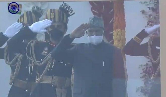 गणतंत्र दिवस 2021: राष्ट्रपति कोविंद ने फहराया तिरंगा, राजपथ पर दिखी हिन्दुस्तान की ताकत