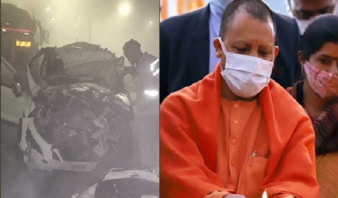 कन्नौज में सड़क हादसे में छह लोगों की मौत, मुख्यमंत्री योगी ने शोक व्यक्त किया