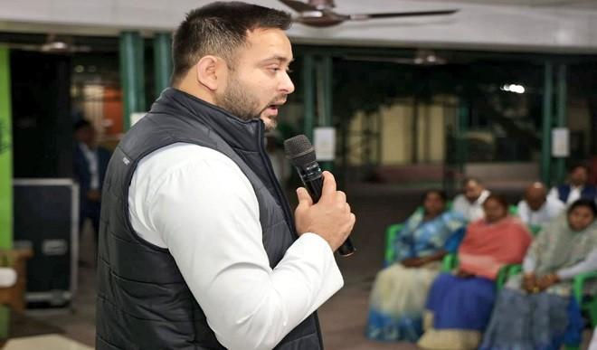 लालू प्रसाद के शासन काल की तुलना में NDA के शासन में दोगुना हुआ अपराध: तेजस्वी