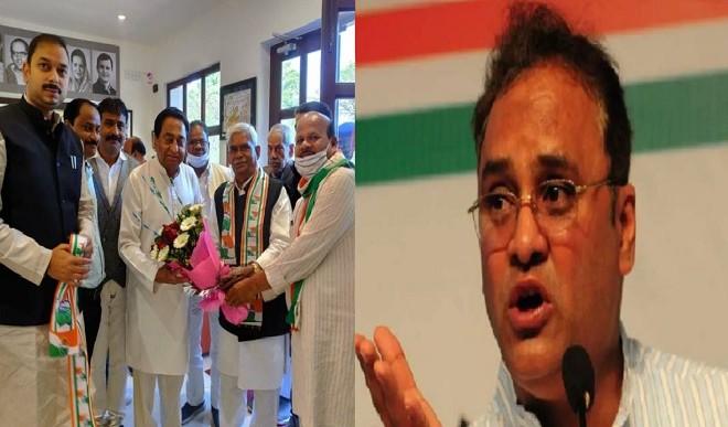 चौरसिया के आने से कांग्रेस में बवाल, अरुण यादव ने साधा कमलनाथ पर निशाना