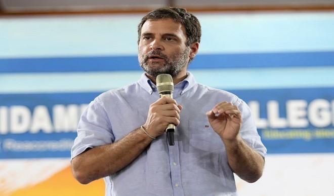 2014 के बाद से विपक्ष सत्ता के लिये नहीं बल्कि भारत के लिये संघर्ष कर रहा है: राहुल