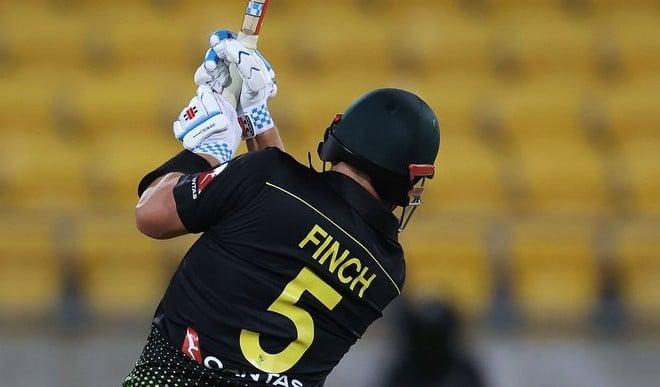 आरोन फिंच ने खेली रिकॉर्ड पारी, ऑस्ट्रेलिया ने न्यूजीलैंड को 50 रन से हराया