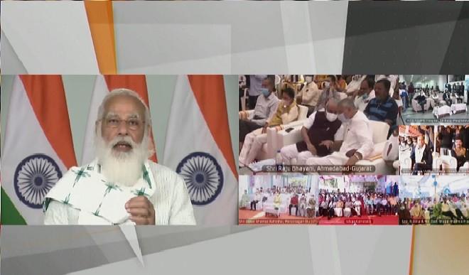 PM मोदी ने 7,500 जन औषधि केंद्र राष्ट्र को समर्पित किए