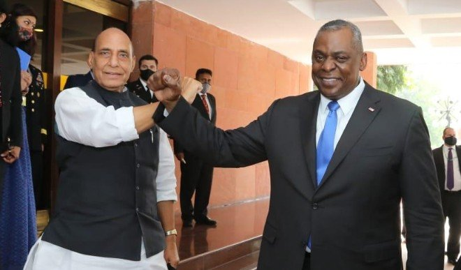 राजनाथ-ऑस्टिन के बीच वार्ता: भारत-अमेरिका ने रणनीतिक सहयोग बढ़ाने का लिया संकल्प