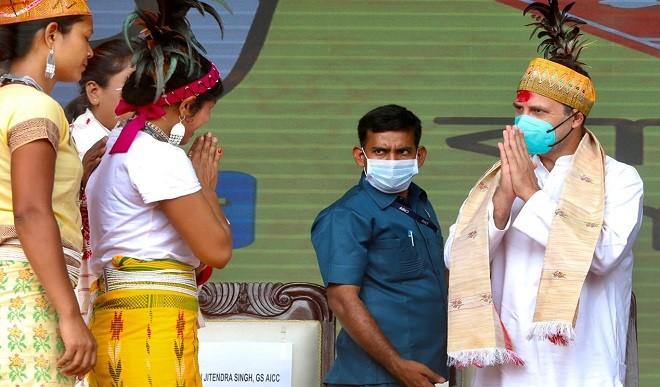 भाजपा की तरह नहीं है कांग्रेस, असम में सत्ता में आने पर अपने वादे पूरे करेगी: राहुल गांधी