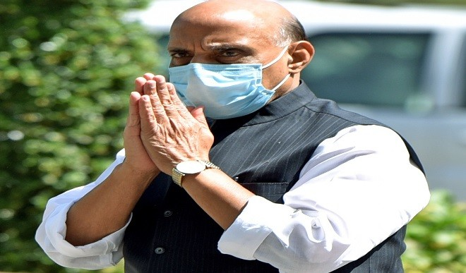 राजनाथ ने डीआरडीओ को लखनऊ में 600 बिस्तरों वाले दो कोविड अस्पताल बनाने के निर्देश दिए