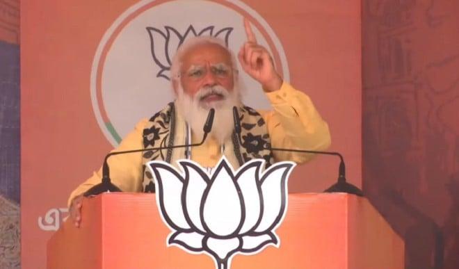 ममता पर बरसे PM मोदी, कहा- बंगाल को विकास रोकने वाली नहीं, डबल इंजन की सरकार चाहिए