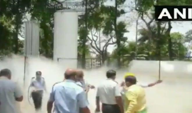 नासिक के जाकिर हुसैन अस्पताल में ऑक्सीजन टैंक लीक, 22 मरीजों की मौत