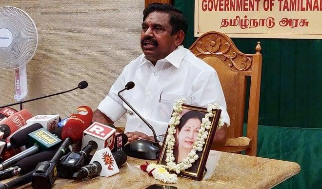 तमिलनाडु से आंध्र प्रदेश और तेंलगाना हो रही ऑक्सीजन की आपूर्ति रोकें PM : पलानीस्वामी