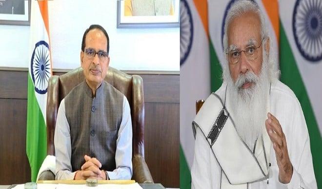 मुख्यमंत्री शिवराज सिंह चौहान ने की प्रधानमंत्री से फोन पर चर्चा, प्रदेश में कोरोना की स्थिति से कराया अवगत