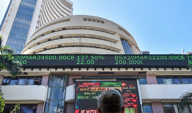 सेंसेक्स में गिरावट जारी, लाल निशान पर बंद हुआ शेयर बाजार
