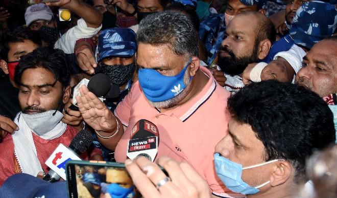 पुलिस ने पप्पू यादव को हामारी अधिनियम के उल्लंघन मामले में गिरफ्तारी के बाद न्यायिक हिरासत में भेजा