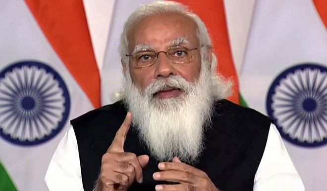 PM मोदी ने कोरोना प्रबंधन में मध्यप्रदेश के जन-भागीदारी मॉडल की सराहना की