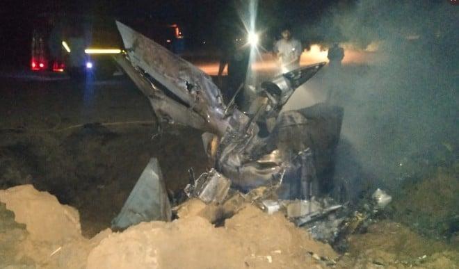 पैतृक गांव पहुंचा विमान दुर्घटना में जान गंवाने वाले पायलट अभिनव का पार्थिव शरीर