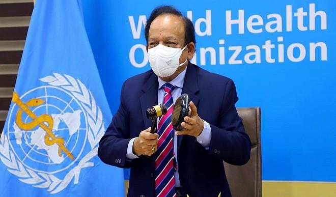 स्वास्थ्य, ऊर्जा पर WHO के उच्चस्तरीय गठबंधन की पहली बैठक को हर्षवर्धन ने किया संबोधित