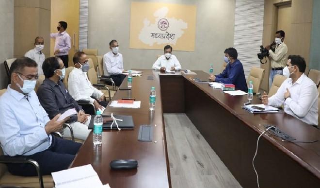मध्य प्रदेश ने कोविड उपचार उपकरणों पर जीएसटी घटाने का किया समर्थन
