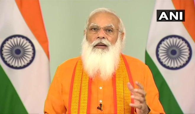 7वें अंतर्राष्ट्रीय योग दिवस पर पीएम मोदी का संबोधन, कहा- वैश्विक महामारी के दौरान योग उम्मीद की किरण बना रहा
