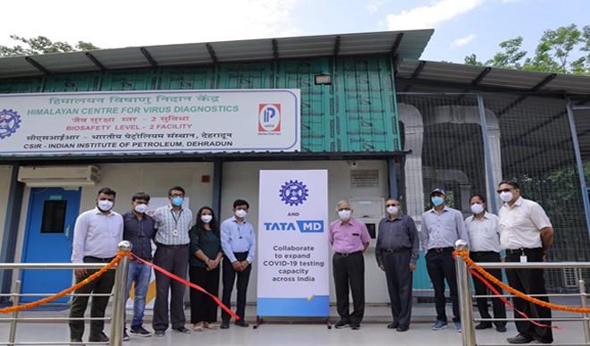 कोविड-19 परीक्षण बढ़ाने के लिए सीएसआईआर और टाटा की साझेदारी
