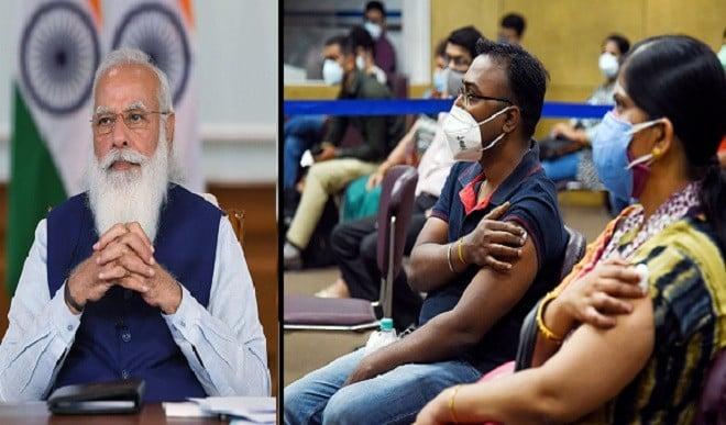 भारत में एक दिन में रिकॉर्ड वैक्सीनेशन, पीएम मोदी बोले- Well done India!