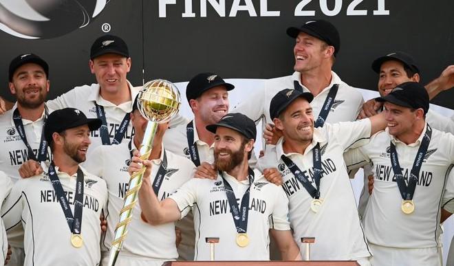 न्यूजीलैंड के कप्तान केन विलियमसन ने WTC जीत को बताया खास अहसास, जीत का श्रेय अपने खिलाड़ियों को दिया