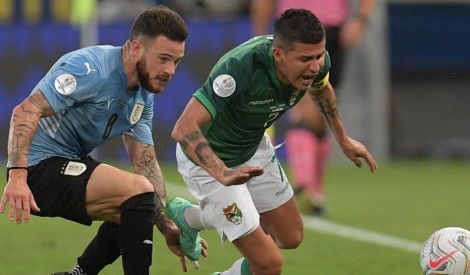 कोपा अमेरिका: उरूग्वे और पराग्वे ने ग्रुप ए का जीता मैच, बोलिविया को 2-0 से हराया