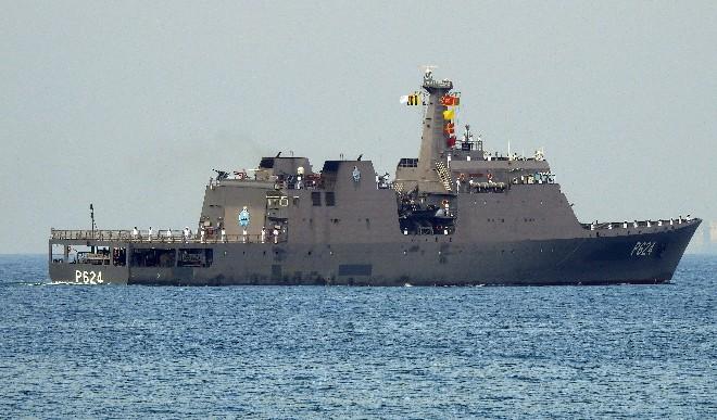 हिंद महासागर में सिंगापुर की ओर जा रहे एक कंटेनर जहाज में आग लगी: श्रीलंका नौसेना