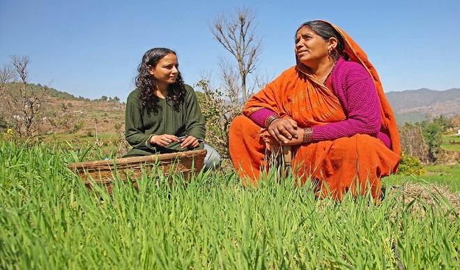 ग्रामीणों ने आंसू और ढोल के साथ दी अपने खेतों को अंतिम विदाई, दिखा अद्भुत नजारा