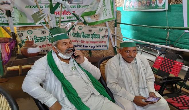 राकेश टिकैत की गिरफ्तारी वाली खबरों को दिल्ली पुलिस ने बताया 'फेक', किसान नेता बोले- मैं गाजीपुर बॉर्डर पर हूं