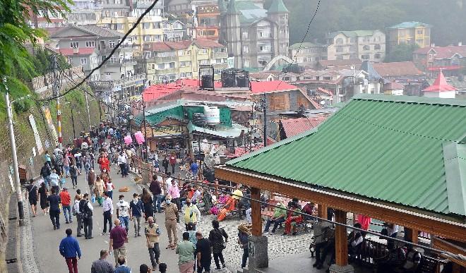सीमित संख्या में पर्यटक घूम  सकेंगे शिमला, मंदिरों के खुलने का समय भी बदला