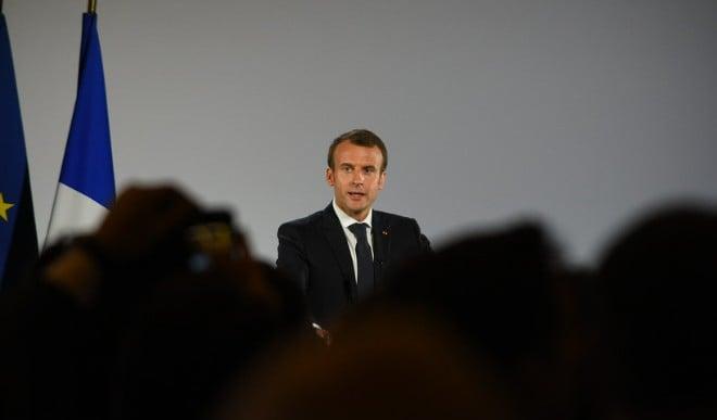 स्पाईवेयर के संभावित निशानों की लिस्ट में फ्रांस के राष्ट्रपति मैक्रों का नाम भी शामिल