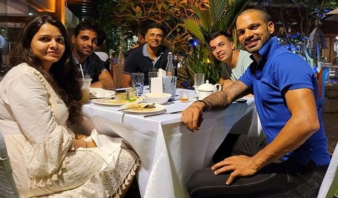 जीत के बाद कोच द्रविड़ के साथ डिनर पर गए खिलाड़ी, युवा बिग्रेड ने इस गाने के साथ मनाया जश्न, वीडियो वायरल