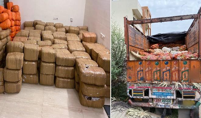 छत्तीसगढ़: ट्रक से एक करोड़ रुपए से अधिक का गांजा जब्त, एक गिरफ्तार