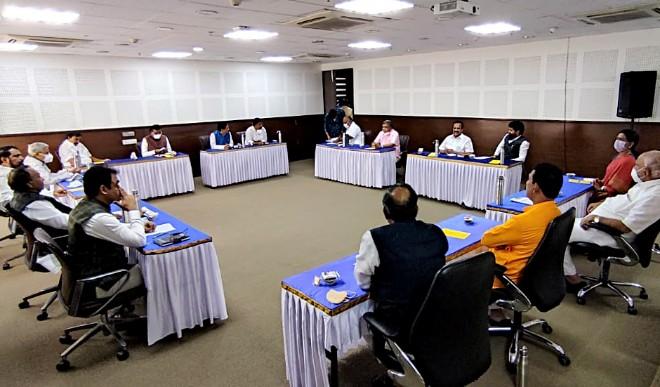 कर्नाटक के भाजपा प्रभारी अरुण सिंह ने राज्य में नेतृत्व परिवर्तन का सवाल टाला