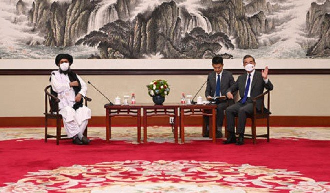 तालिबानी नेताओं ने चीन के विदेश मंत्री से की मुलाकात, अफगानिस्तान के विषय पर हुई चर्चा