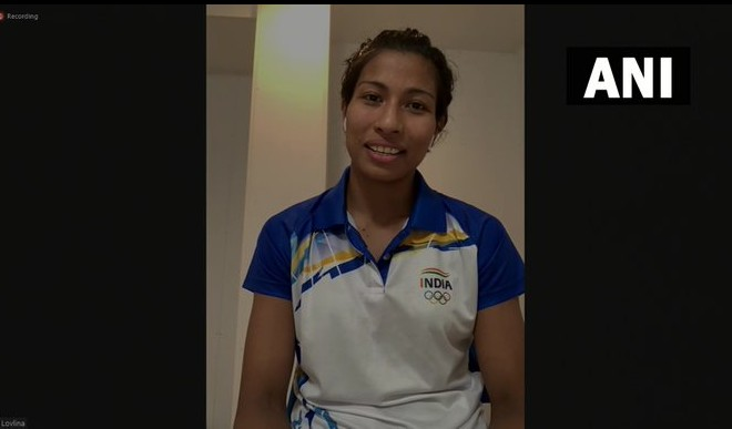 तोक्यो ओलंपिक में  भारत का दूसरा पदक पक्का करने वाली लवलीना को मिल रही बधाइयां