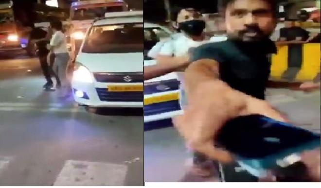 लखनऊ में बीच सड़क पर कैब ड्राइवर को पीटने वाली लड़की पर केस दर्ज
