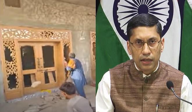 पाकिस्तान में मंदिर पर हमले को लेकर भारत सरकार सख्त, PAK राजदूत के डिप्टी को समन, MEA ने दिया ये बयान