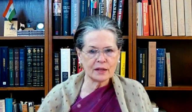 कांग्रेस शासित राज्यों के मुख्यमंत्रियों के साथ सोनिया गांधी करेंगी बैठक, उद्धव ठाकरे भी होंगे शामिल