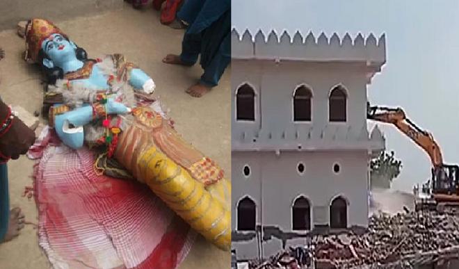 पाकिस्तान में अल्पसंख्यकों पर जारी अत्याचार, जन्माष्टमी के अवसर पर मंदिर में हुई तोड़फोड़, कराची में 3 चर्च ध्वस्त