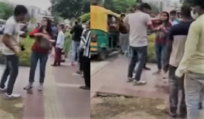 प्रैंक वीडियो बनाने के चक्कर में लड़की ने अनजान लड़के को जड़ दिए तीन थप्पड़, फिर हुआ कुछ ऐसा...