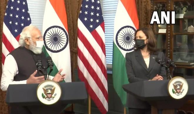 PM मोदी ने कमला हैरिस को ऐतिहासिक चुनाव जीतने की दी बधाई, भारत आने का दिया न्योता