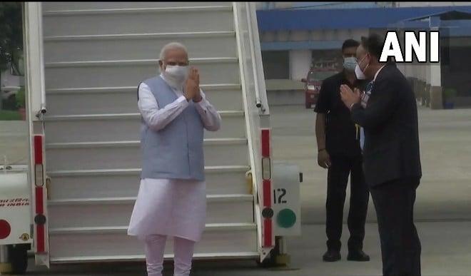 PM Modi US Visit : प्रधानमंत्री नरेंद्र मोदी अमेरिका यात्रा के बाद भारत लौटे, एयरपोर्ट पर हुआ भव्य स्वागत