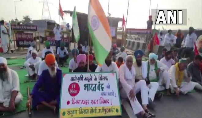 भारत बंद के समर्थन में राहुल गांधी, कहा- किसानों का अहिंसक सत्याग्रह आज भी बरकरार